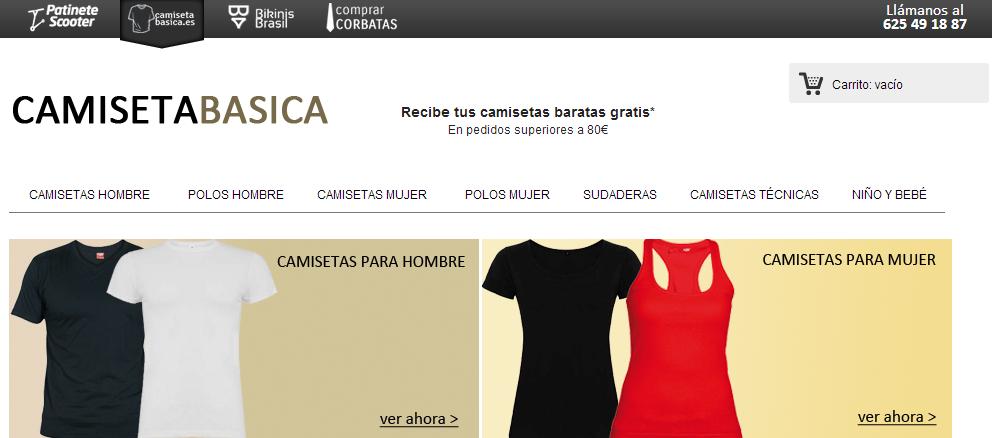 Afiliación en CamisetaBasica