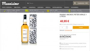 Whisky Online en Muenisimo