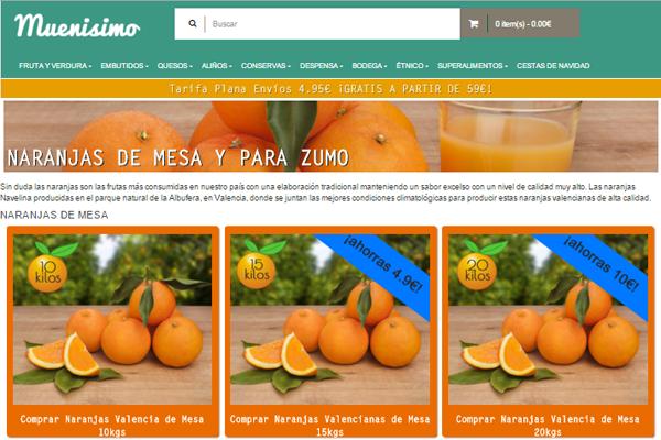 Naranjas en Muenisimo